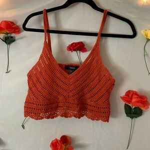 Forever21 Knitted Crop